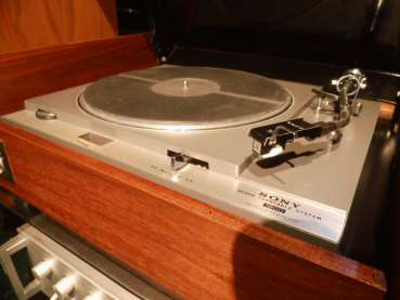 SONY PS 1800 Studio-Laufwerk 1967 Echtholz woodcase belt Drive AT 12 System